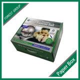 Dobra de dobramento de empacotamento de papel Corrugatedbox superior das vendas comerciais