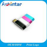 USB impermeável Pendrive da mini vara da memória do USB do plástico