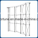 De Buena Calidad Gráfico Pop Up Display Productos con estructura de aluminio