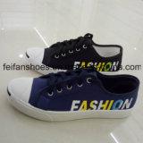 良質の人のサイズのキャンバスの注入の靴、学生の偶然のズック靴(FFZL1102-02)