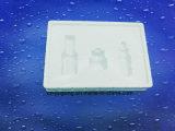 Weißes Blasen-Verpackungs-Tellersegment für kosmetisches Produkt