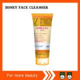Limpador novo da face do mel dos ingredientes