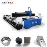 CNC de Scherpe Machine van de Buis van het Metaal van de Laser van de Vezel voor Vierkante/Ronde Pijp