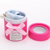 女性のためのピンクの絹のスカーフのネックレス