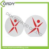 125kHz 13.56MHz RFID 레이블 스티커 PVC 서류상 물자