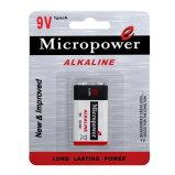 De super Droge Batterij Alklaine van de Macht 9V/6lr61