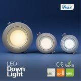 Lámparas IP44 2100 Lulmen alto LED brillante Downlight 30W de la iluminación de la cubierta