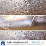 Vidro de padrão claro / colorido para vidro de janela com bom preço
