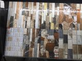 Material de construcción Blue Mosaic Gradation Ceramic Bathroom Wall Tile