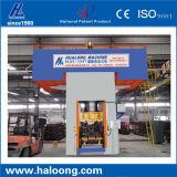 Resbalar la máquina de fabricación de ladrillo hueco de los motores dobles del movimiento 760m m