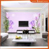 ホーム装飾の油絵(モデルNo.のための花の壁紙が付いている明るい空: Hx-5-035)