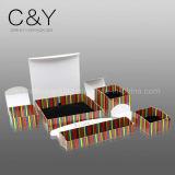 서류상 보석 포장 상자를 인쇄하는 현대 디자인