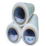 Película de estiramento transparente do rolo enorme de LLDPE