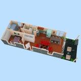 편평한 팩 상점 입방체 또는 콘테이너 집 (CH-64)