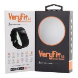 frequência cardíaca esperta do bracelete de Veryfit do dispositivo Wearable de Digitas do podómetro 3D