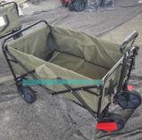 Klapp-Folding-Dienstprogramm Wagon Garten Warenkorb Im Freien, Rot