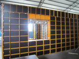 Coffrage d'acier de mur