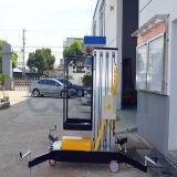 Подъем человека одиночного рангоута электрический вертикальный для 10m