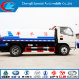 Kleine Water Carrying Truck, 5ton 5cbm 5000liters 6 Wheels Water Tankwagen, Mini Water Truck voor Sale