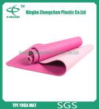 Циновка йоги TPE циновки йоги TPE двойных слоев Eco-Friendly