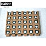 Hairiseプラスチックモジュラー27.2 mmの平らなコンベヤ・システムベルト