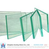 vidrio del claro de 3-19m m con certificado