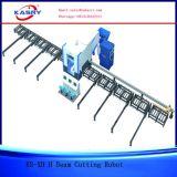 Vollautomatische h-Träger-Ausschnitt-Maschine für Stahlkonstruktion