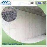 El panel de emparedado del cemento EPS de la fibra para la casa prefabricada