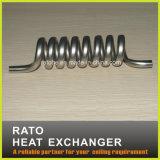 Calentador de agua caliente espiral del tubo