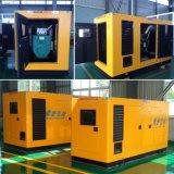 800kw/1000kVA refrigerado por agua conjunto diesel silencioso/insonoro de Doosan de generador