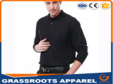High Quality Factory Price Customized Plain Embroidery Dry Fit Long-Sleeve Hommes Polo