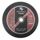 En12413 Alumina Abrasive Cutting Disc mit Handle (230X1.8X22.2)