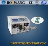 Macchina automatizzata di taglio e di spogliatura del collegare, macchina di spogliatura del cavo
