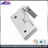 Peça feita à máquina CNC de alumínio feita OEM do metal para médico