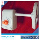 Cor Bct-Agv-06 da prata da caixa do sem-fim da engrenagem da válvula da liga de alumínio