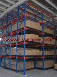 Cremagliera industriale del drive-in del metallo di memoria del magazzino (JW-HL-881)