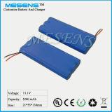 11.1V 5200mAh Li-Ionbatterie (18650)