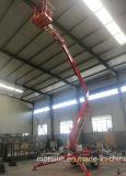 El acoplado de los 10m de la alta elevación montó la elevación articulada eléctrica del auge