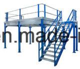 Plataforma de aço de armazenamento personalizado com grade de aço