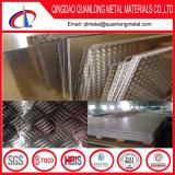 4X8 알루미늄 중국에서 장에 의하여 돋을새김되는 검수원 격판덮개