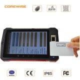 Ordenador móvil rugoso con el explorador de la huella digital, programa de lectura de alta frecuencia de 13.56MHz RFID