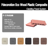Revestimiento compuesto material reciclado el 100% de la pared de madera WPC de WPC