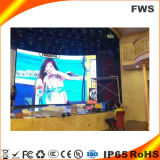 Écran polychrome d'intérieur de la qualité P4.0 DEL