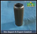 Filtre de cartouche filtrante de cylindre de treillis métallique d'acier inoxydable