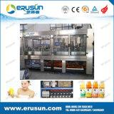 HDPE van het Vruchtesap 600ml Hete het Vullen van de Fles Machine