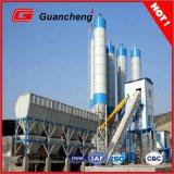 Planta de procesamiento por lotes por lotes portable del concreto prefabricado Hls60 con el soporte de la ISO