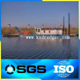 판매를 위한 높은 Effciency Kaixiang 직업적인 유압 디젤 엔진 모래 준설선 배