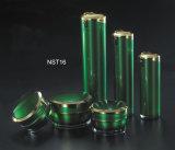 De de groene Fles van de Lotion van de Kleur en Kruik van de Room (NST16)