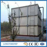 Serbatoio di acqua modulare industriale isolato della vetroresina di FRP/GRP