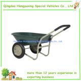 정원 (WB5405)를 위한 이중 바퀴 홈 야드 배회자 외바퀴 손수레